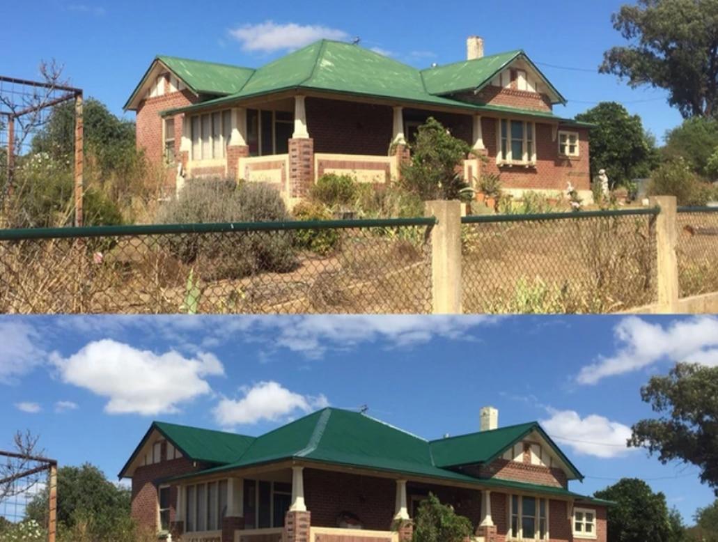 tile iron & terracotta roofs
