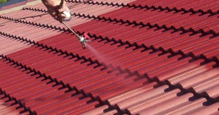 Roof Painting, Tamworth roof restoration